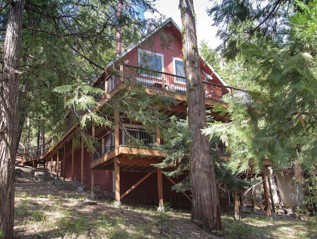 Nicks Cabin. Rustic luxury near Pinecrest Lake! - Long Barn - Cottage