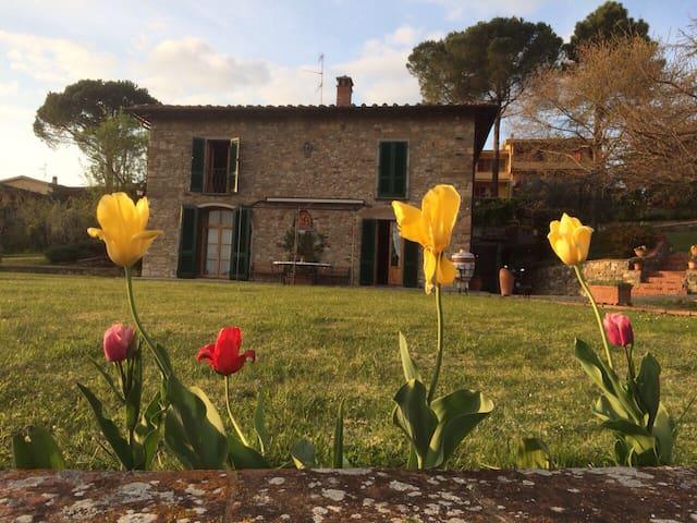 Chianti Classico bedroom for 2 - Bagno a Ripoli - House