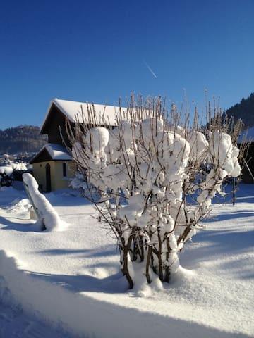 Chalet dans les Hautes Vosges
