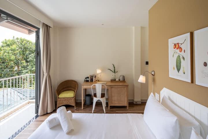 ☼ Là Em Villa ☼ Balcony Deluxe Room BKFST .incl ☼