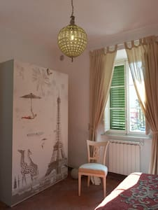 Double bedroom, ensuite bathroom - Bagni di Lucca