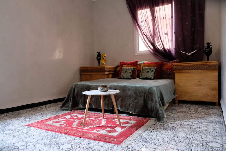 #Moroccan house 1 min to mosque hassan 2 and beach