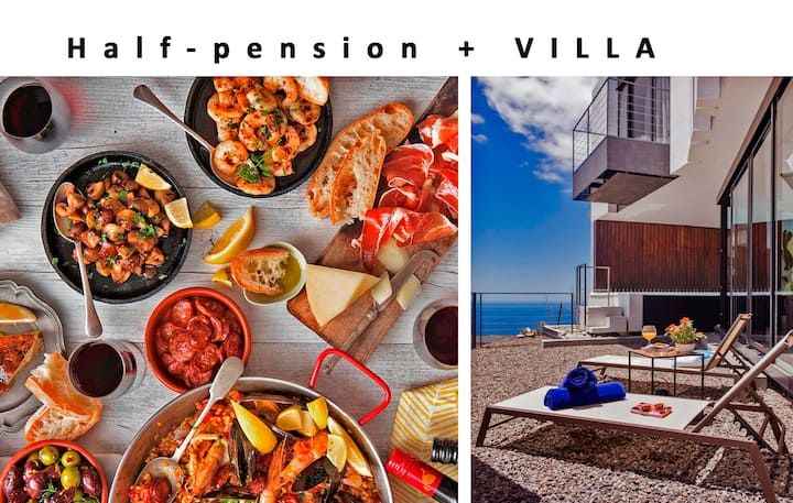 HALF-PENSION (breakfast & dinner) - Pool,Sea view.
