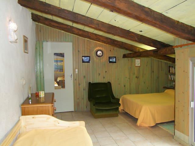 Chambre d'hôtes la Salicorne - Saint-Vincent-sur-Jard - ゲストハウス