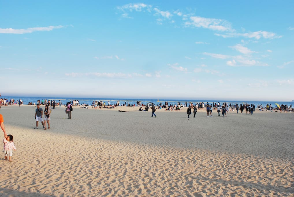 뛰어서 30초면 이런 해변이.... ^^