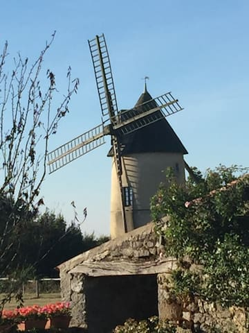 Romantic 19th Century Windmill - Saint-Cyr-des-Gâts
