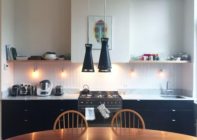 Stylish flat in trendy area