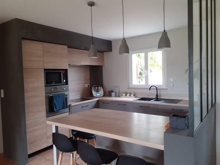 Maison confortable entre Angers et La Flèche
