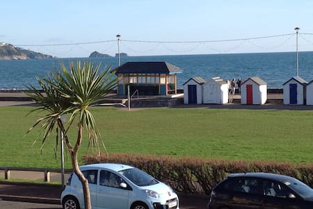 Beautiful beachside apartment with stunning views - Paignton - 公寓
