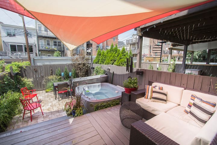Modern 3 Bed in U St, Metro, Pkg - Washington - Casa
