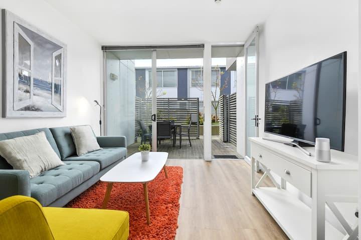 Quiet Secluded Garden Apartment w/ Heat Pump