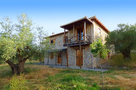Luxurious Mansion in olive grove & view to Mystras - Magoula - Reihenhaus