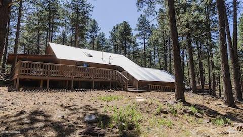 Koko's Cabin at 7100 feet elevation!