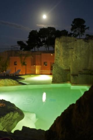 monolocali in residence con piscina