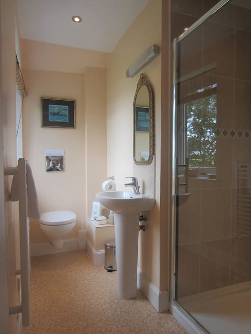 The ensuite's private bathroom