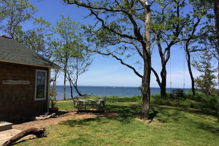 Beachfront Hamptons-style cottage on 2 acres!