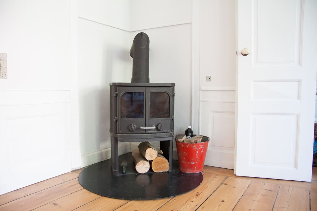 You're welcome to use the fireplace during your stay