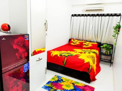 Near Airport Ac Studio home+private entrance