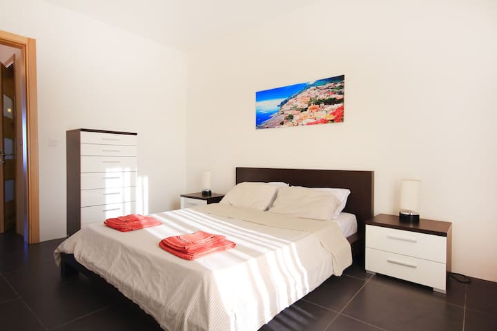 2 Bedroom Penthouse In St Julians with open views.