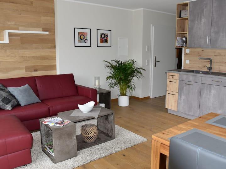 Ferienwohnungen Vogelsang, (Lennestadt- Saalhausen), Ferienwohnung Amsel A, 50qm, 1 Schlafzimmer, max. 4 Personen