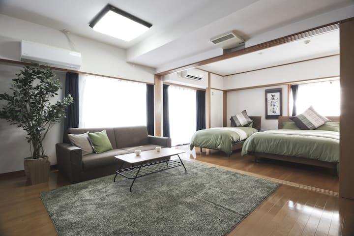 Stunning Apt for 10, Shinjuku Park - Shibuya-ku - Apartment