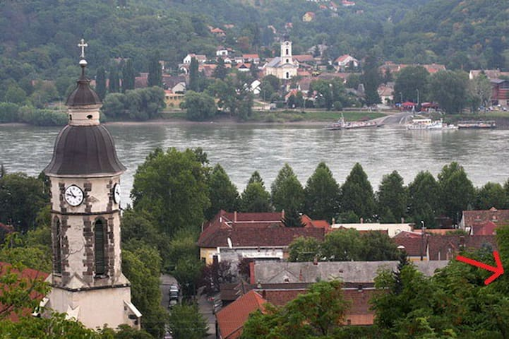 Central,very close to the Danube - Nagymaros - Leilighet