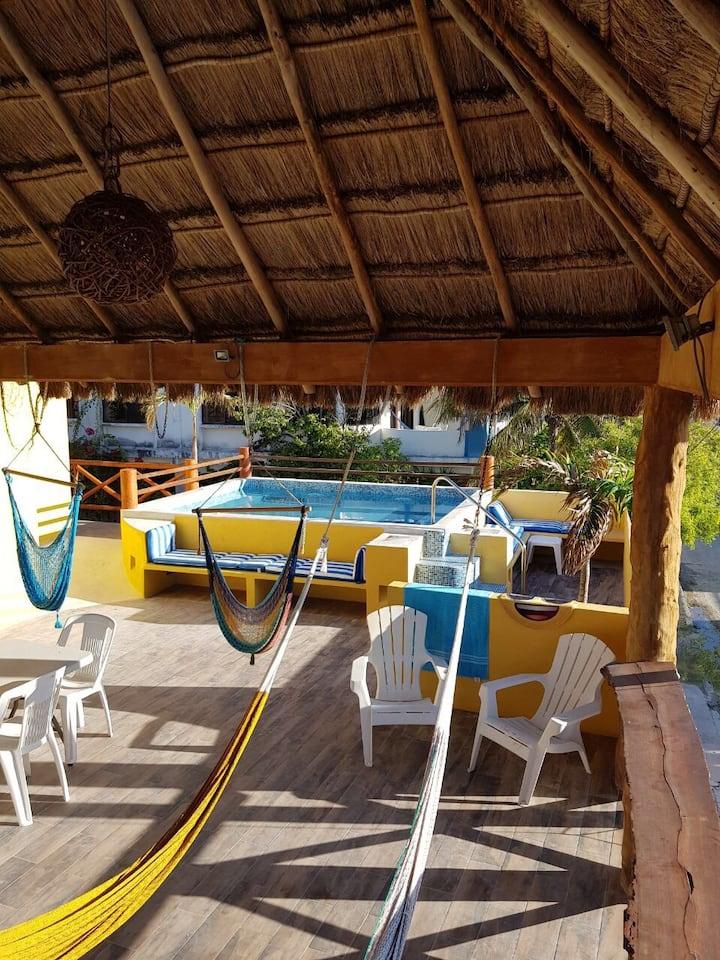 Departamento by Casa Velero Puerto Morelos