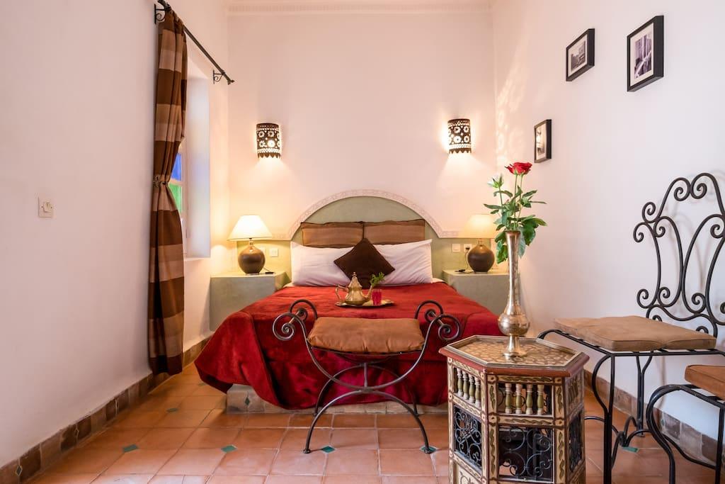maison traditionnelle maisons de ville louer marrakech marrakech tensift el haouz maroc. Black Bedroom Furniture Sets. Home Design Ideas