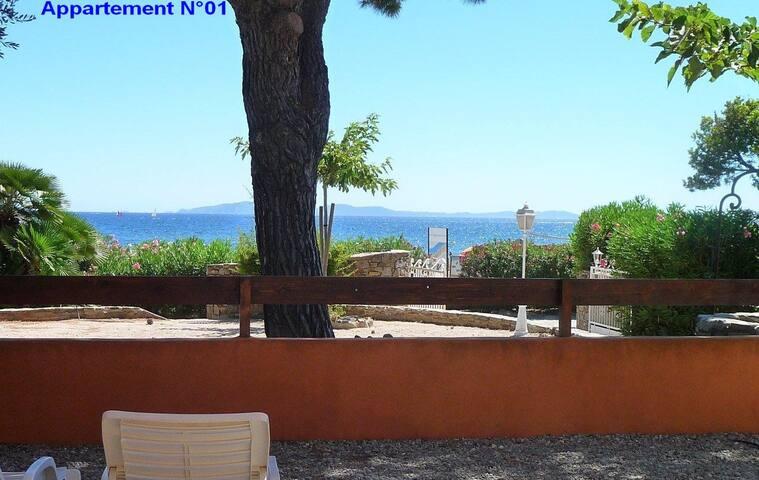 VILLA L'ENSOLEILLADE, 10m Mer, Vue Mer,Piscine (1)