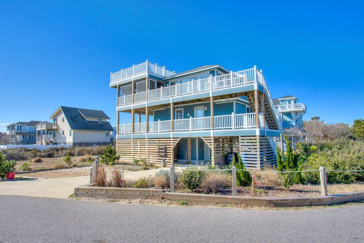 2048 Coral Cove Cottage * 1 Minute Walk to Beach * Walk to Duck Village