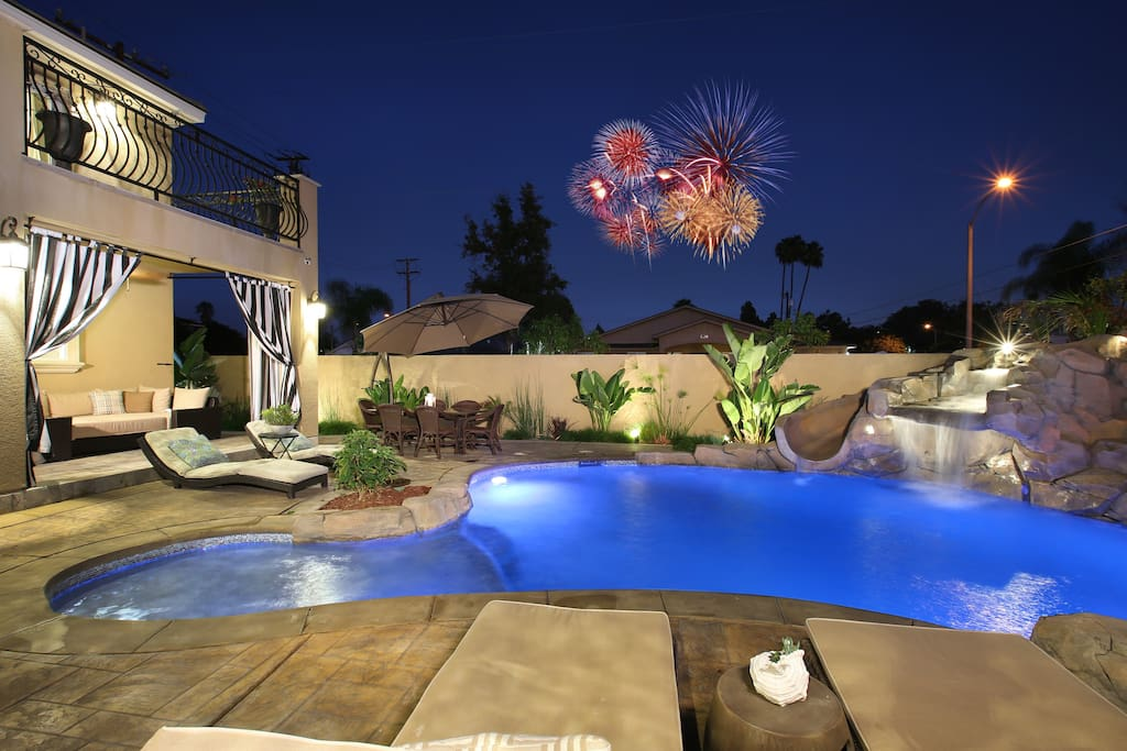 New upscale resort living near disney 4000 sqft houses for King s fish house anaheim