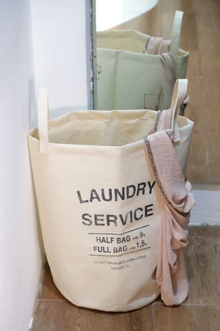 laundry services (pickup/deliver) nearby