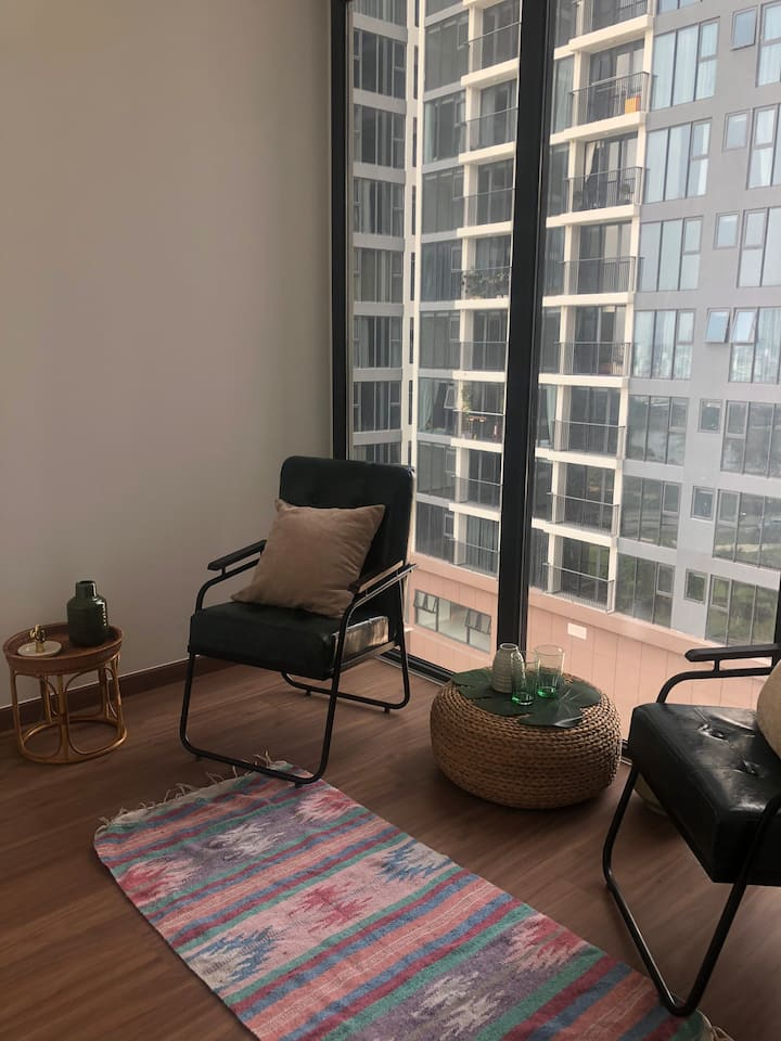 Brand new stylishly furnished apartment with views