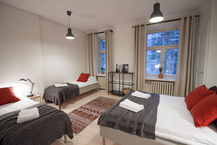 New cozy apartment with best location in Helsinki