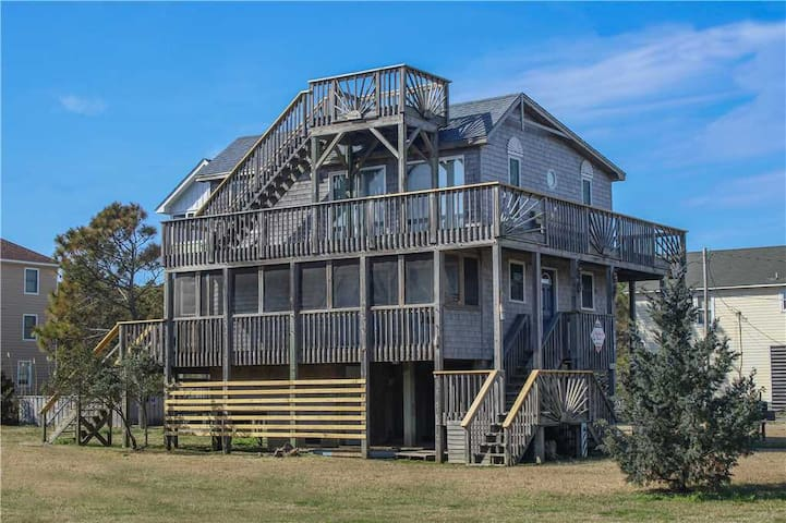 Dune Your Thing Oceanside in Waves w/Easy beach access,PetFriendly