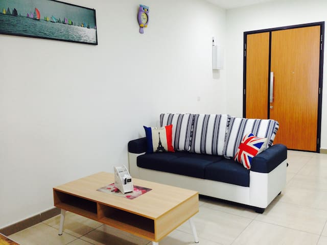 Octagon Ipoh Homestay - 2 Bedrooms unit - 8-19-3