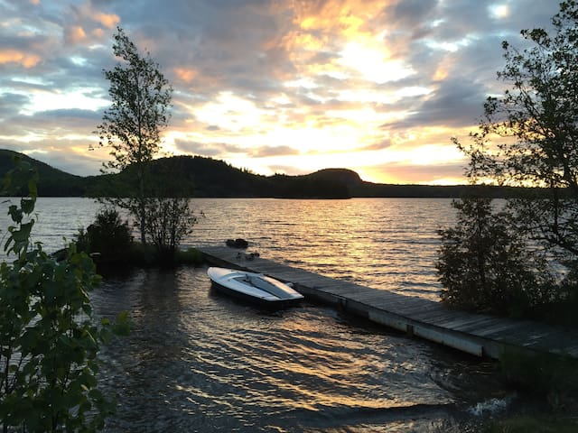 Lakeside Guesthouse Grand Lac Brompton - Saint-Denis-de-Brompton - Srub