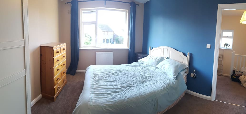 Kingsize room near river walks