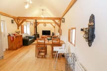 Open plan living/dining/kitchen