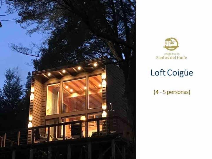Lodge Pucón Santos del Huife Loft Coigüe (4-5 p)