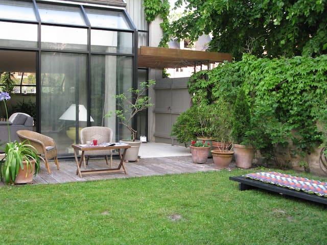 La Ferté Milon : maison avec vue.