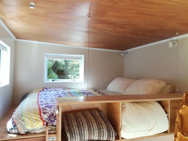 The mezzanine bed