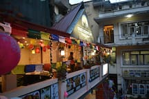 sunny private room with Balcony in central thamel