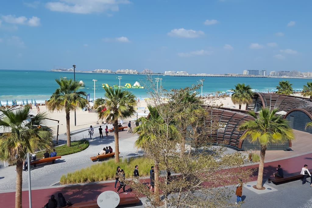 JLT is minutes to the beach area