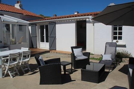 Maison familiale au calme - Noirmoutier-en-l'Île