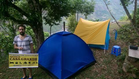 Camping en Yungas