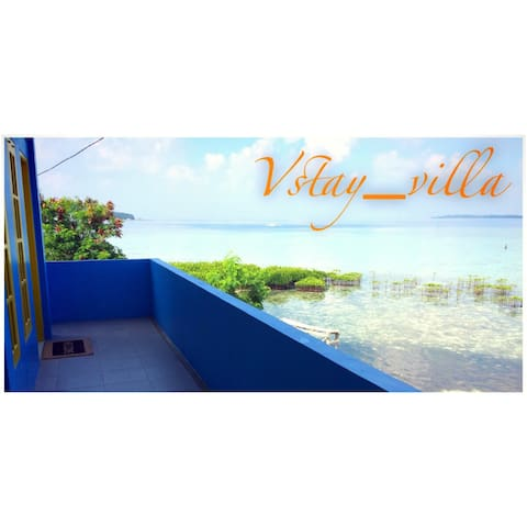 Front beach ocean view with rooftop - Jakarta - Villa