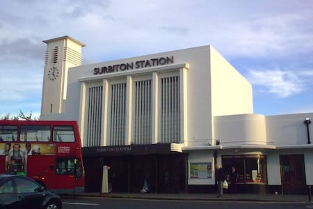 Convenient Studio Flat for London - Surbiton - Huoneisto