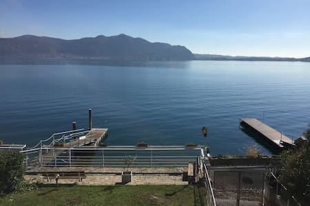 NEW Stunning Apt in Villa directly on the Lake - Predore