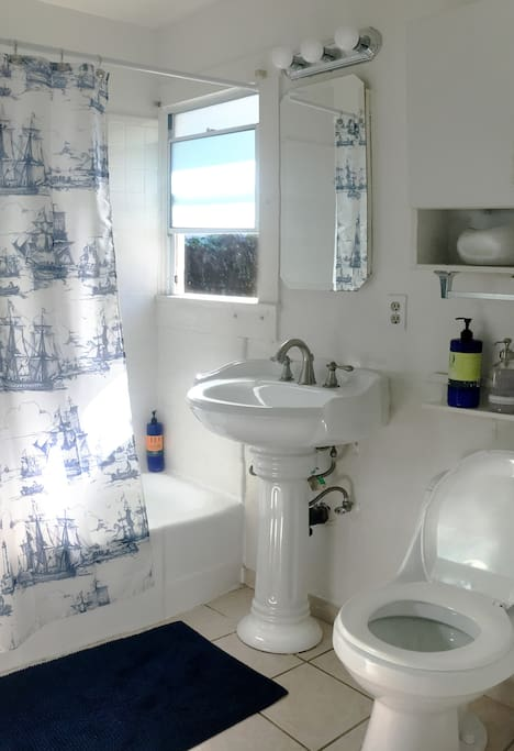 Private Bathroom with Bath and Shower